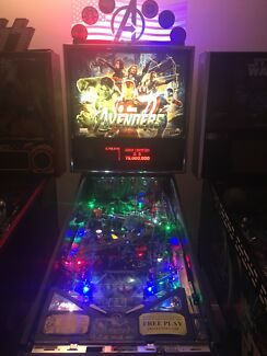 Avengers premium pinball machine comes with laseriffic pinball topper Wilton Wollondilly Area Preview