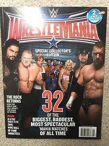 WWE Wrestlemania 32 Magazine