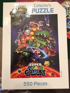 Super Mario Galaxy Nintendo Collector's Puzzle