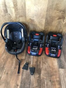 Britax car seat and 2 bases