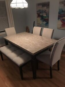 Marble Top Dining Room Dining Set!