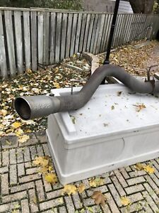 "5"" MBRP DPF back with 6"" tip"