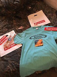 Supreme eternal tee large and supreme x the north face headband