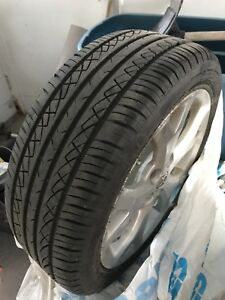 4 summer tires without the mag 17 inches 205/50 93W