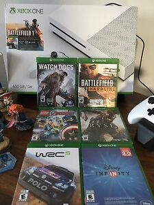 Xbox One S 500Gb and more accessories