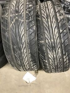 Pair (2) of Akina Tires with 70% tread 235/60/18