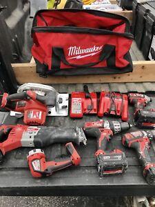 kit milwaukee à vendre