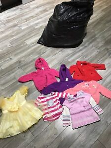 Girls clothing 6 to 12 and 12 to 18