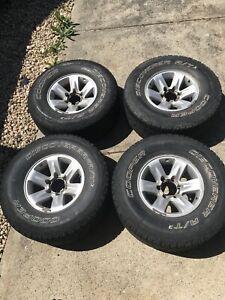 GU patrol wheels