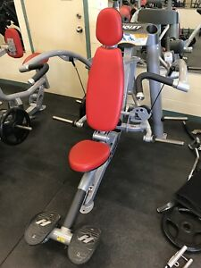 Machines musculation soulder press et mid row