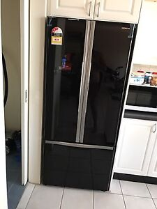 Hitachi French door black fridge brand new Padstow Bankstown Area Preview