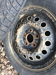 Studded tires and rim's