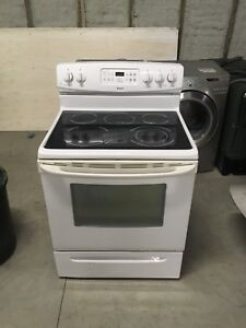 Kenmore glass top stove 2 years old