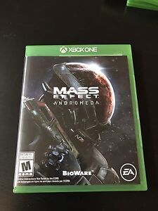 Mass Effect Andromeda- Xbox One