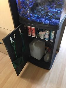 29 gallon Salt water Bio cube and stand