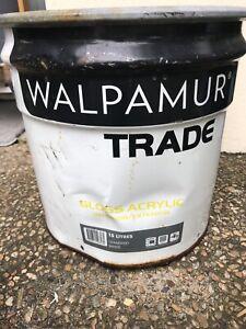 WALPAMUR TRADE WHITE PAINT