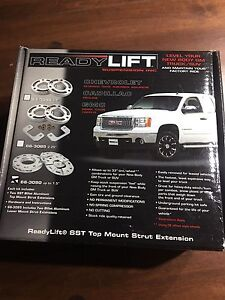 Suspension leveling kit for 2007 and up Chevy Gmc 1500
