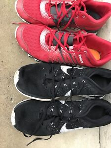 Reebok Nike 10.5 men's running shoes
