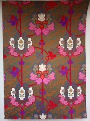 Large Ruled Softback Floral design cover Notebook Pink Red Purple Green Orange