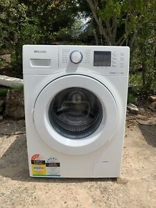 Sumgung 7.5KG bubble wash front load washing machine very new