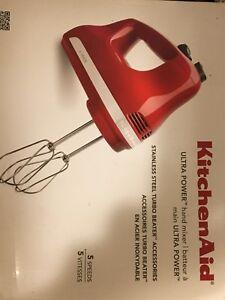 Kitchen Aid 5 speed mixer