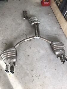 AUDI S5  4.2L Exhaust System, Induction Air Box and Grill