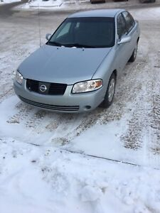 2004 Nissan Sentra Low kms