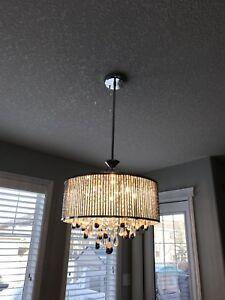 Reese 5 bulb chandelier (Reduced)