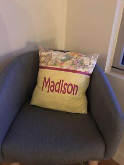 Personalised 'Madison' cushion