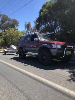 Hilux surf and 650sx