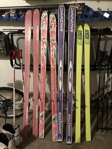 Downhill Skiis skis, 4 pairs. Summer GIVEAWAY Deal $150 for ALL