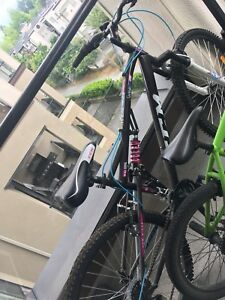 Women's mountain bike dual suspension 26'