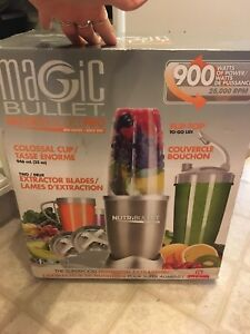 Magic bullet pro 900 series