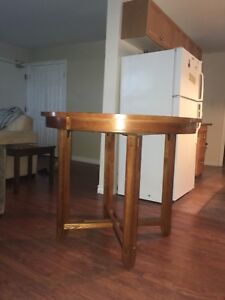 Great sturdy high table