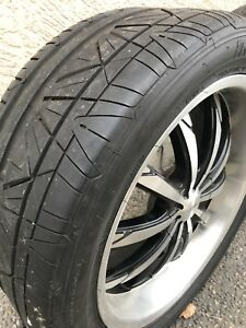 20 inch tires and rims Universal fit