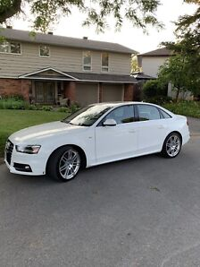 2013 Audi A4 (S-Line Package)