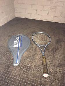 Very Rare Wilson Graphite Midsize Vintage Racquet!Grip4 Preston Darebin Area Preview