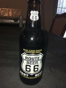 Bouteille rootbeer Route 66
