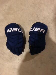 Bauer Total One NXG pro stock JVR hockey gloves