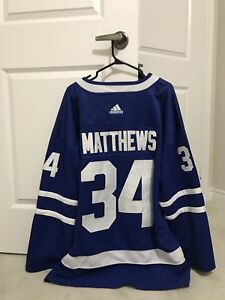 Maple Leafs Jersey XL - Matthews #34