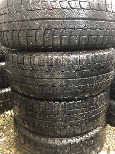 195/55R15 four winter tires with rims