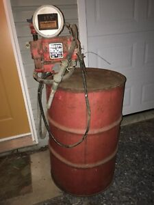 Antique Electric Gas Pump