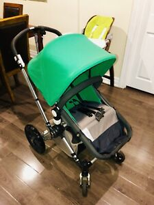 Gently used bugaboo cameleon with original acc + carseat