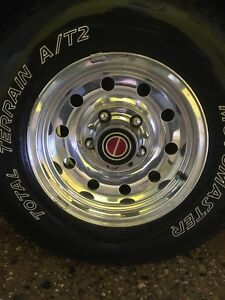 235/75/R15 tires and rims