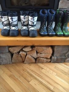 Kids Baffin and BOGS Boots
