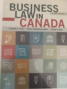 Business Law in Canada-11th edition