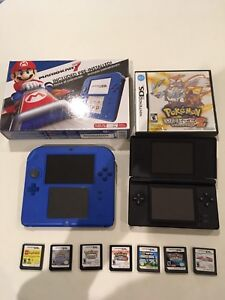 2ds and ds life bundle with games and chargers