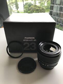 Fujinon 23mm 1.4 + 62mm UV FILTER