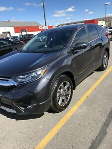 "2018 Honda CRV EX-L w/AWD -Lease Takeover ""As New"""