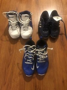 Basketball sneaker and soccer cleats